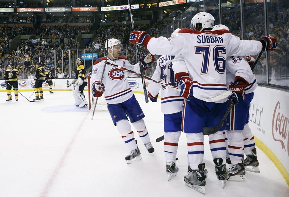 The Canadiens had the last laugh against the Bruins on Wednesday night.