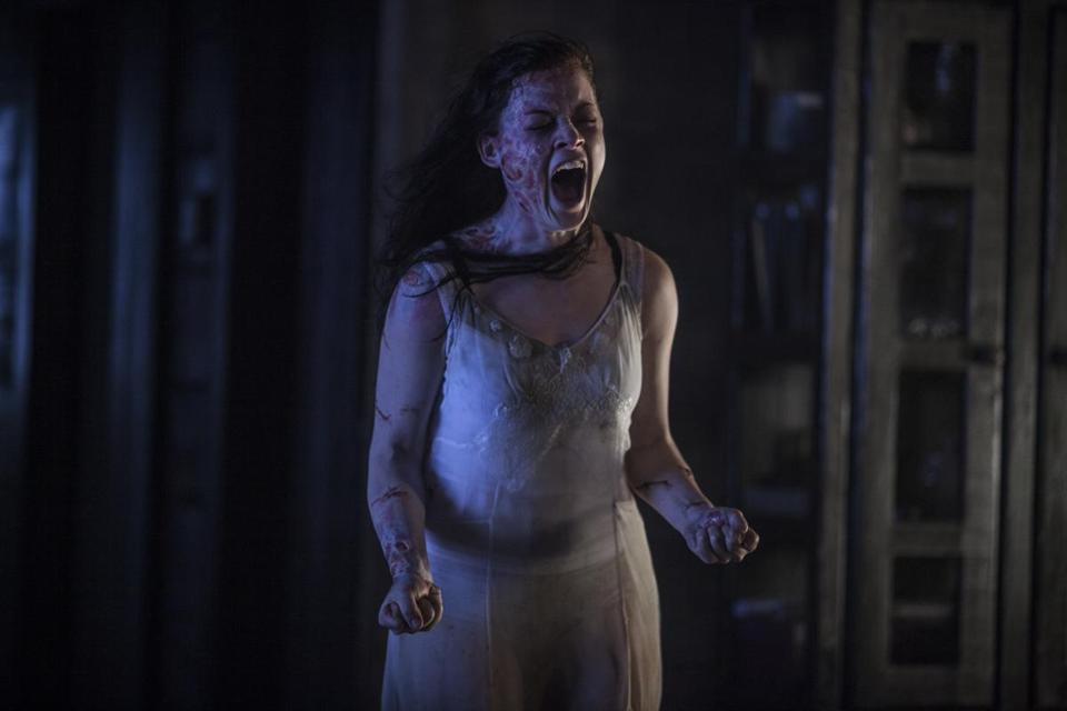 "Jane Levy stars in the new horror remake ""Evil Dead."""