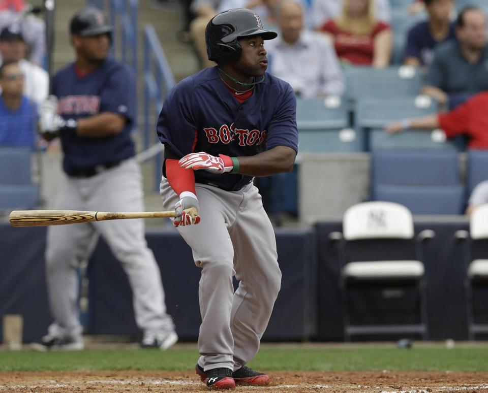 Jackie Bradley Jr. made his case by hitting .444 with 12 RBIs in 71 plate appearances this spring.