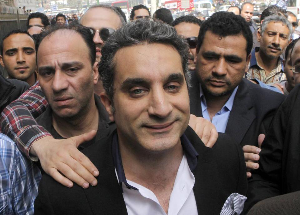 Bassem Youssef is a prominent critic of Egpyt's president.