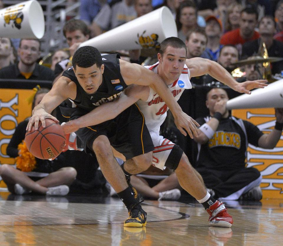 Fred Van Vleet (left) and the Shockers were too much for Aaron Craft and the Buckeyes.