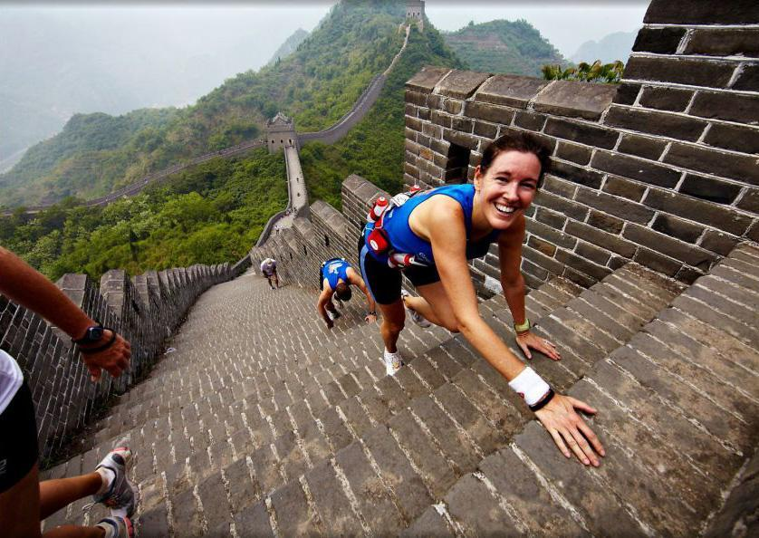 The Great Wall Marathon is good for those who want to visit the landmark, and who are gluttons for punishment.