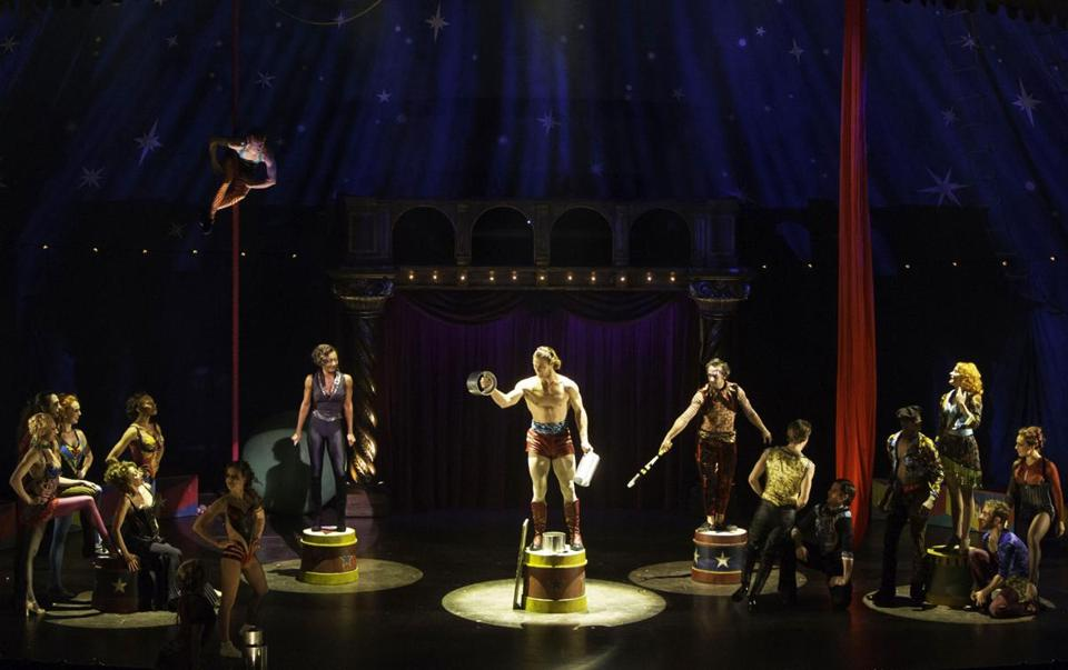 "American Repertory Theater's production of ""Pippin."""