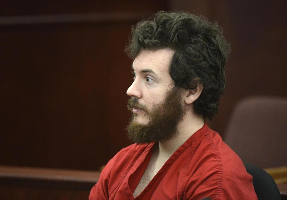 Accused Aurora theater shooting suspect James Holmes.