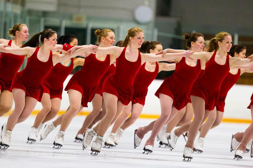 The Haydenettes will be performing at the ISU World Championships this weekend at Agganis Arena.