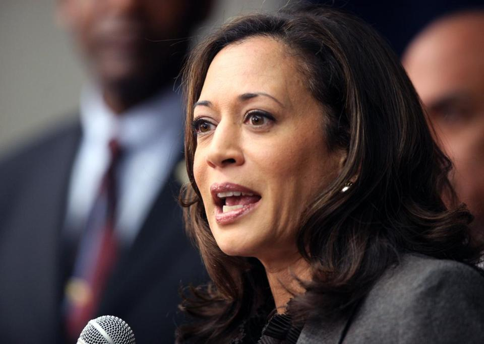 "The president had called Kamala Harris ""the best-looking attorney general in the country."""