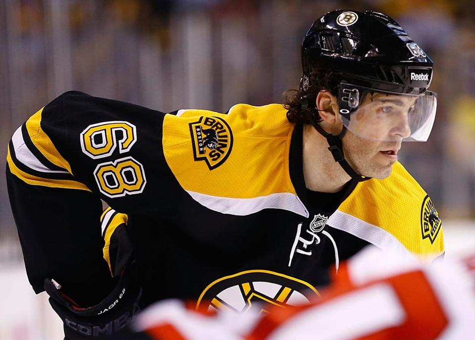 The Bruins do not have a first-round pick on Sunday. They sent it to Dallas at the trade deadline as part of the treasure that yielded Jaromir Jagr.