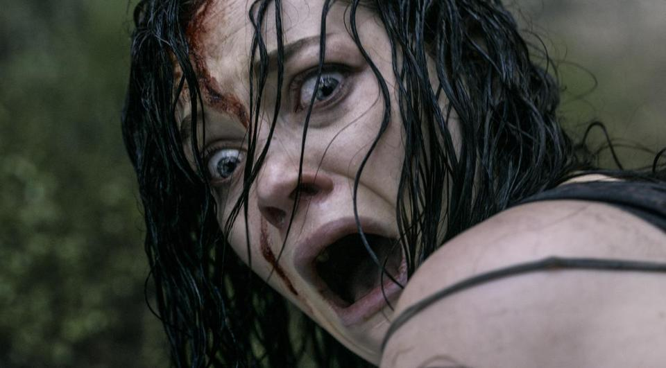 "Jane Levy in ""Evil Dead,"" a remake of a 1983 horror movie."