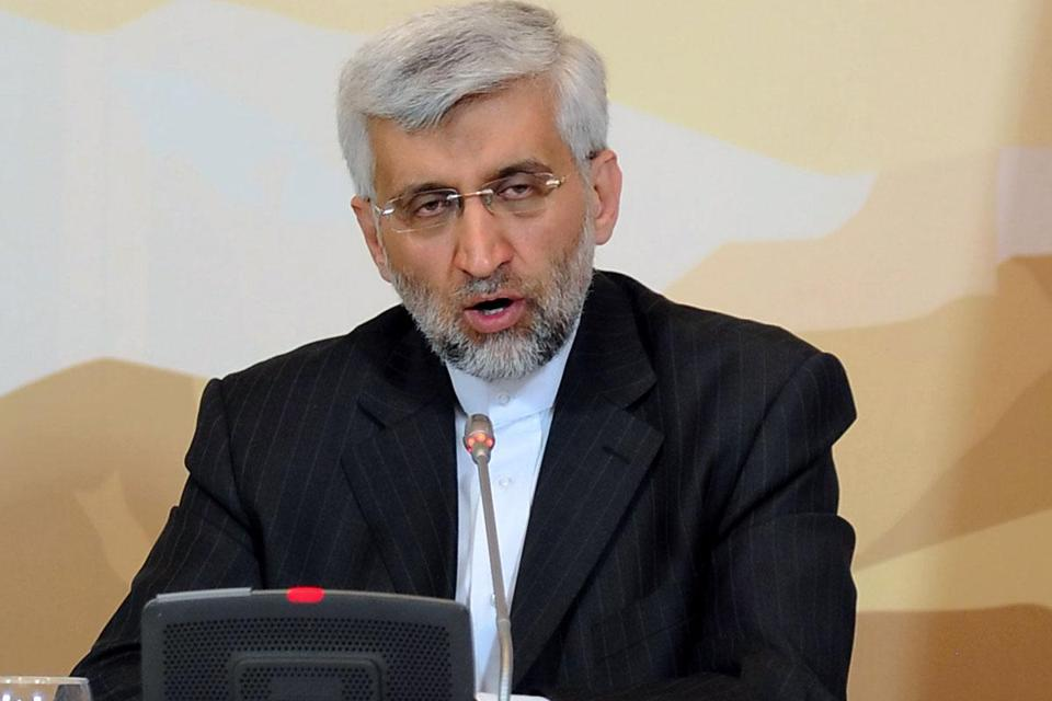 "Saeed Jalili, the chief negotiator for Iran, said, ""Confidence building is a two-way road."""