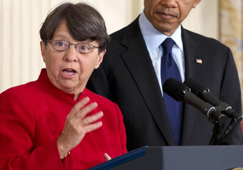 "Mary Jo White said enforcement must be ""bold and unrelenting."""