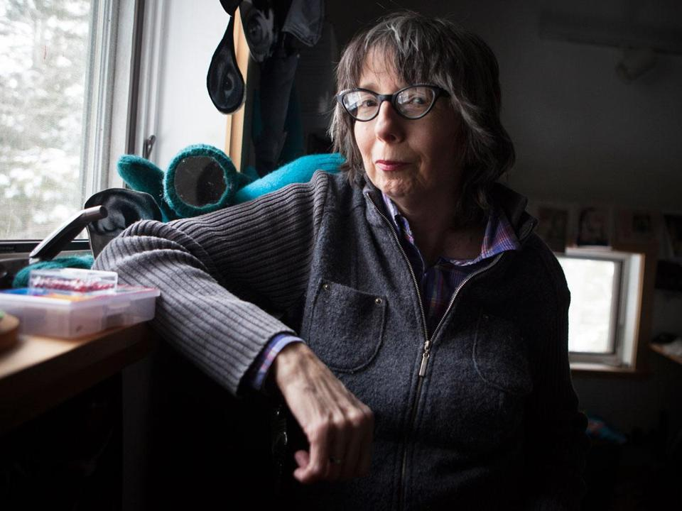 Filmmaker and professor Nancy Andrews suffered symptoms of PTSD after a lengthy hospitalization in Boston.