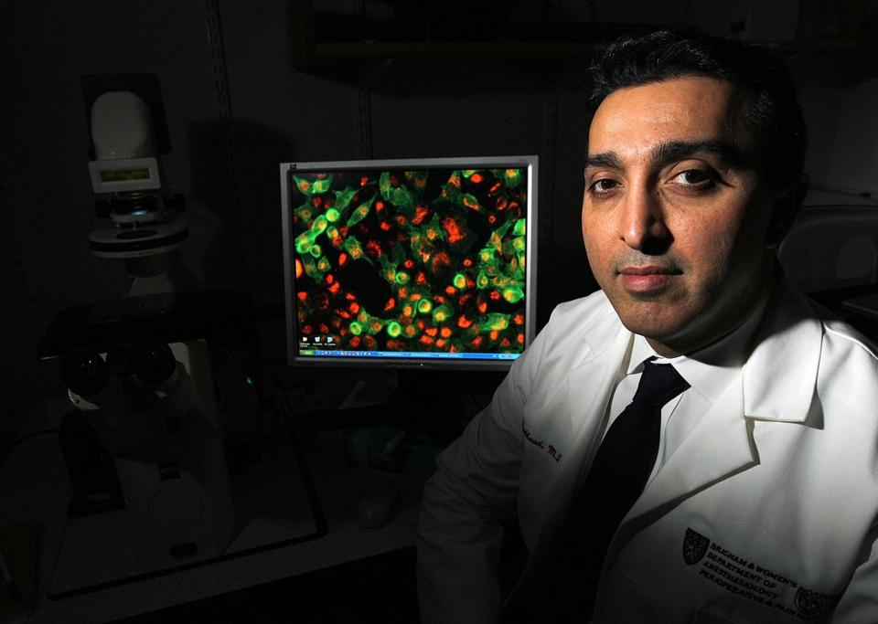 Omid Farokhzad, a researcher at Harvard Medical School and Brigham and Women's Hospital.