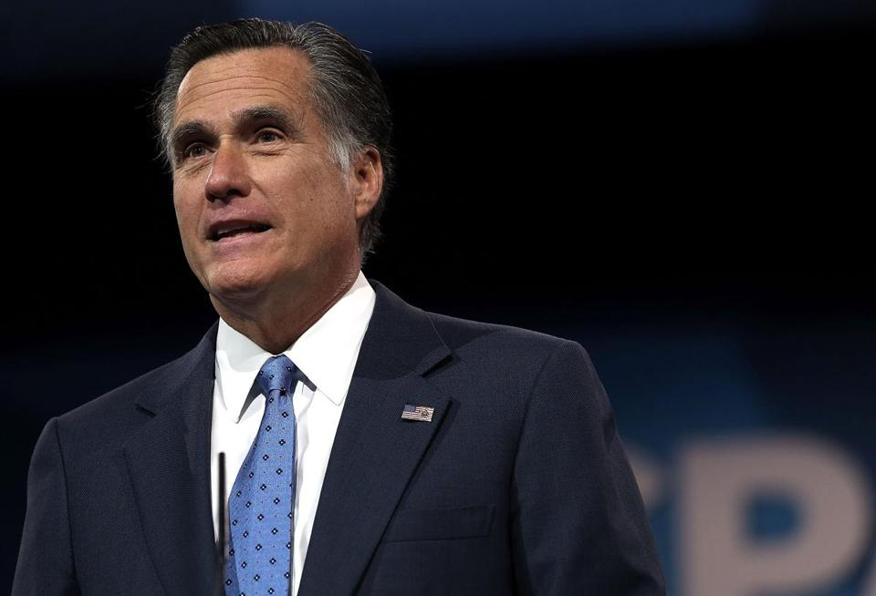 Mitt Romney led the 2002 Olympics in Salt Lake City.