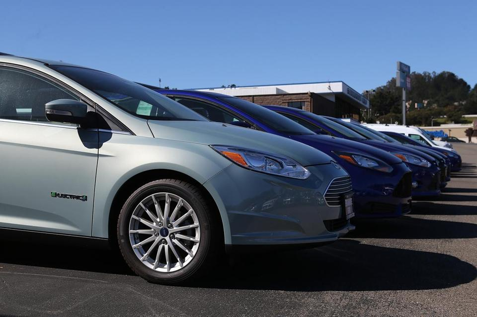 Ford said it sold more than 1 million Focus compacts last year, outselling the Toyota Corolla.