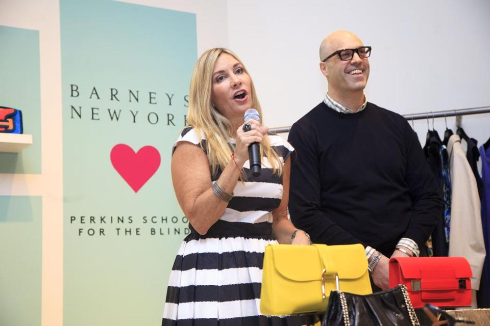 Corinne Grousbeck and Tim Olmstead of Barneys New York.