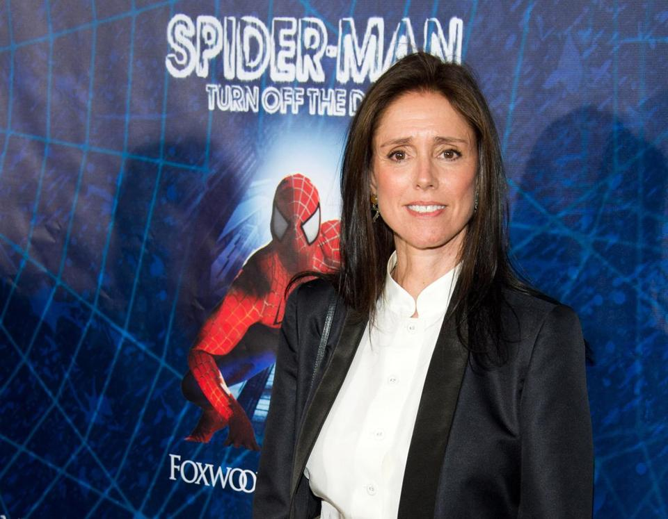 Julie Taymor, the original ''Spider-Man'' director and co-book writer, was fired after years of delays.