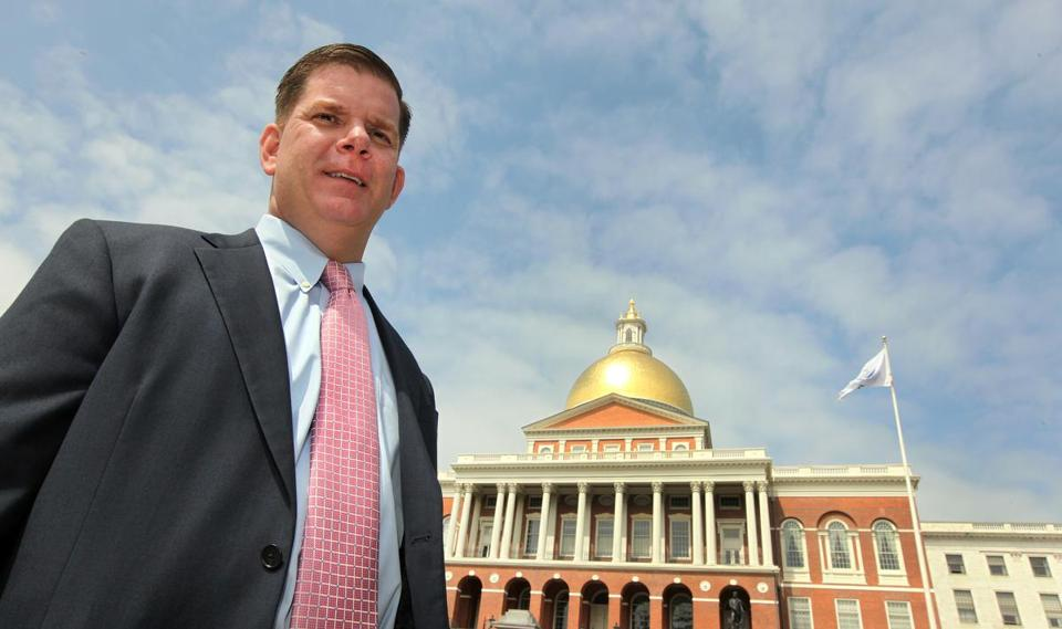State Representative Martin J. Walsh said his focus would be economic development in downtown Boston. He also cited his record on jobs and fighting for working families.