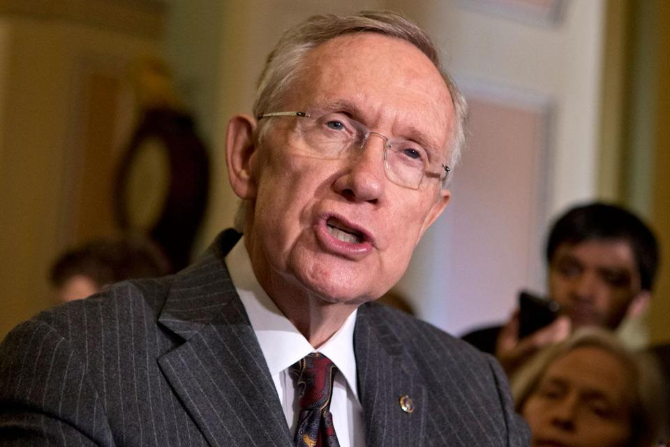 """We're moving forward on this bill. The American people deserve a vote on this legislation,"" said Harry Reid."