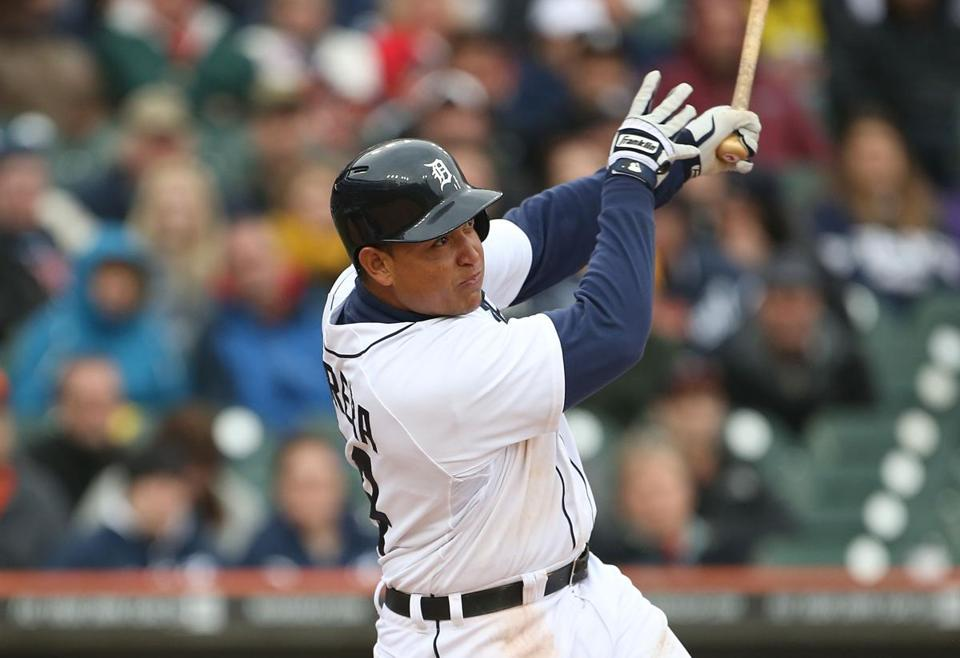 Miguel Cabrera already looked in midseason form with a three-run homer in the fifth against Toronto.