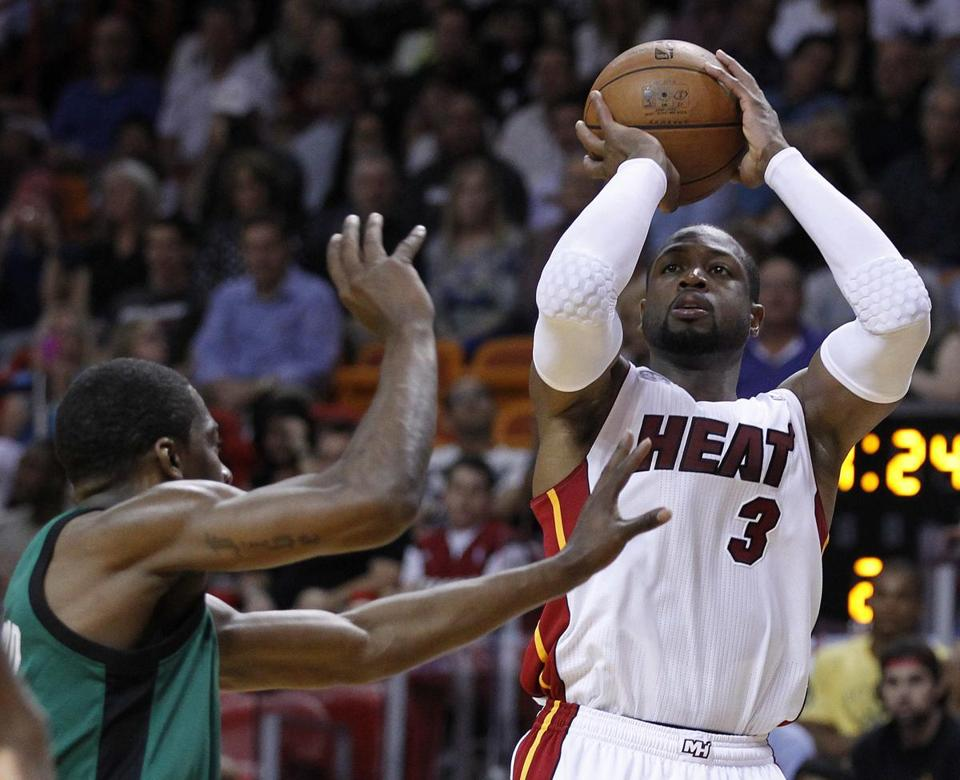 Dwyane Wade (11 points) returned to the Miami lineup after missing six straight games.