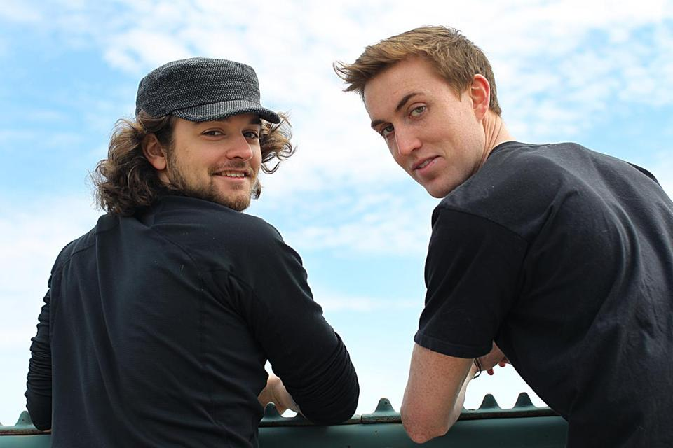 Ryan Scura (right) and his film collaborator, Dylan Ladds, both grew up in Concord, New Hampshire.