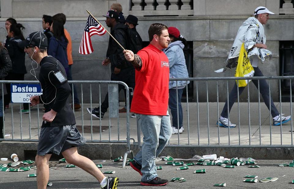 Imagenes e info del atentado en una maratón de Boston