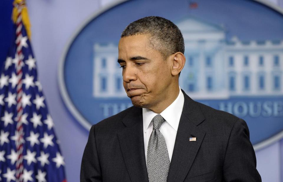 Speaking Tuesday afternoon at the White House, President Obama said,