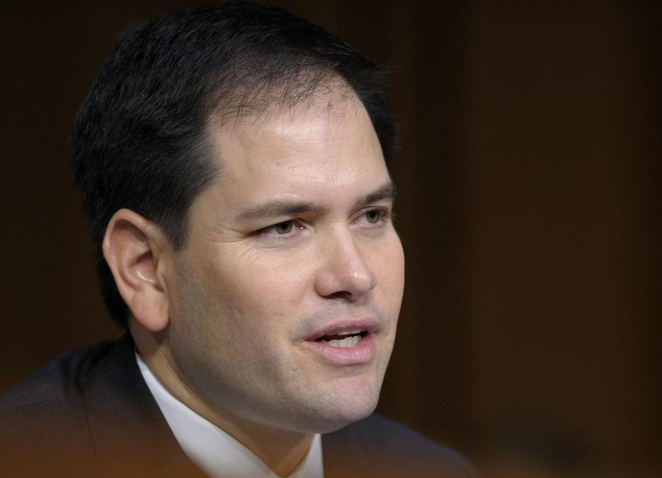 Senator Marco Rubio of Florida is part of the bipartisan group that backs the immigration plan.