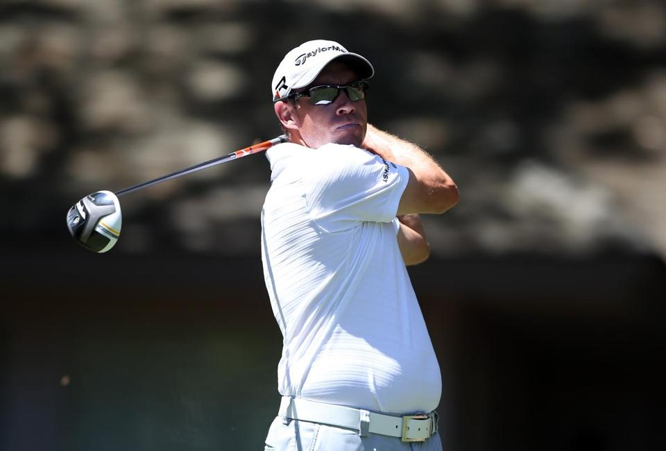Brian Davis's two-shot lead was the result of birdieing eight of his final 14 holes.