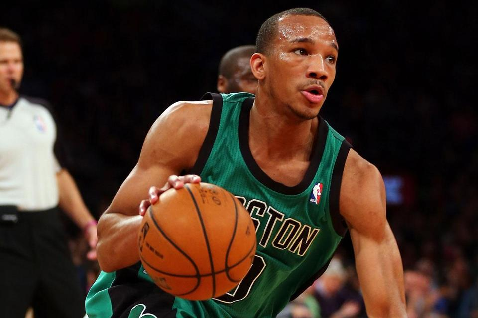 Guard Avery Bradley has led the charge for the Celtics with his tireless work on defense.