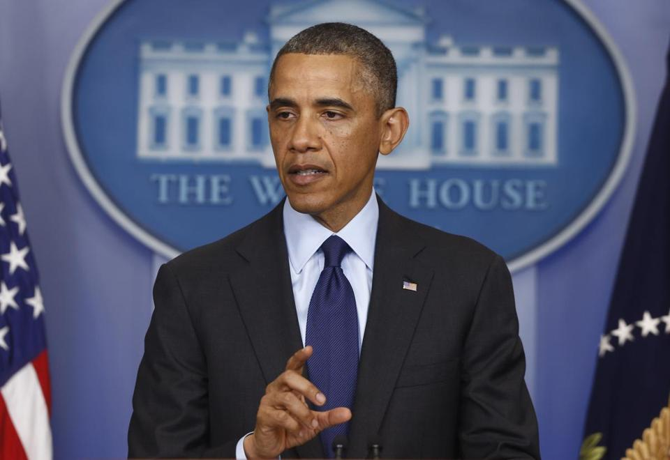 President Barack Obama spoke from the White House after the capture of bombing suspect Dzhokhar A. Tsarnaev.