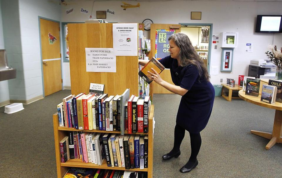 As director of the Langley-Adams Public Library in Groveland, Nathalie Harty does a little bit of everything.