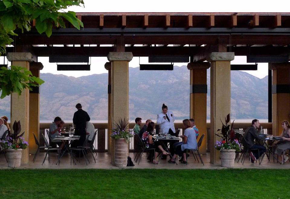 Terrace Restaurant at Mission Hill Family Estate in West Kelowna, B.C.