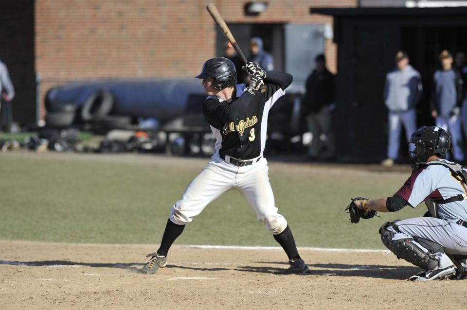 Weymouth's Cam MacDonald was batting .309 for AIC as of last week.
