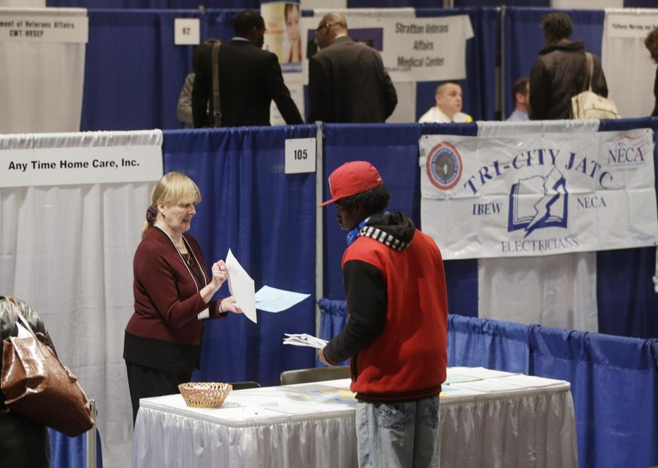 Hiring remains tepid: More than 5 million Americans received unemployment aid in the week ended April 6.