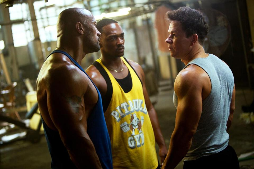 "Mark Wahlberg plays a bodybuilder who turns to crime in ""Pain & Gain."""
