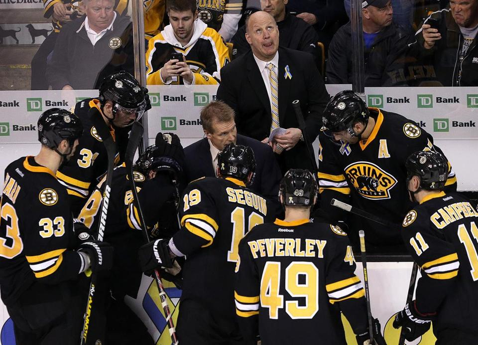 "Bruins coach Claude Julien is looking for his team to ""take responsibility"" and to avoid excuses."