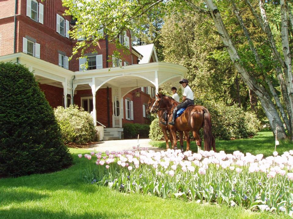 The Marsh-Billings-Rocke-feller National Historic Park is an art-filled Queen Anne mansion.
