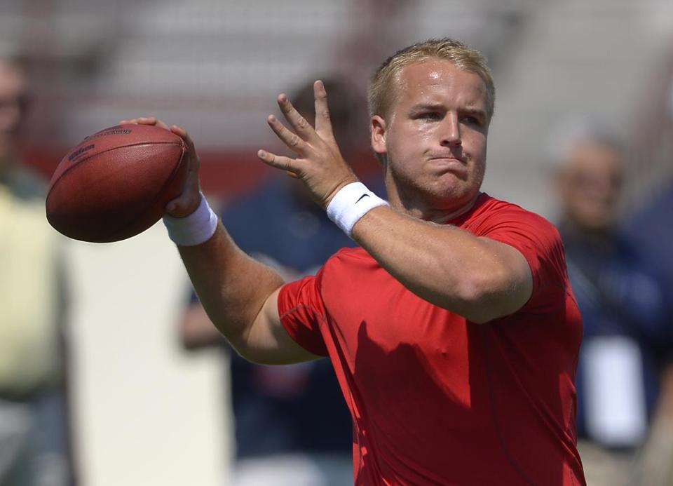 Matt Barkley, once considered a potential top-five pick, was taken in the fourth round.