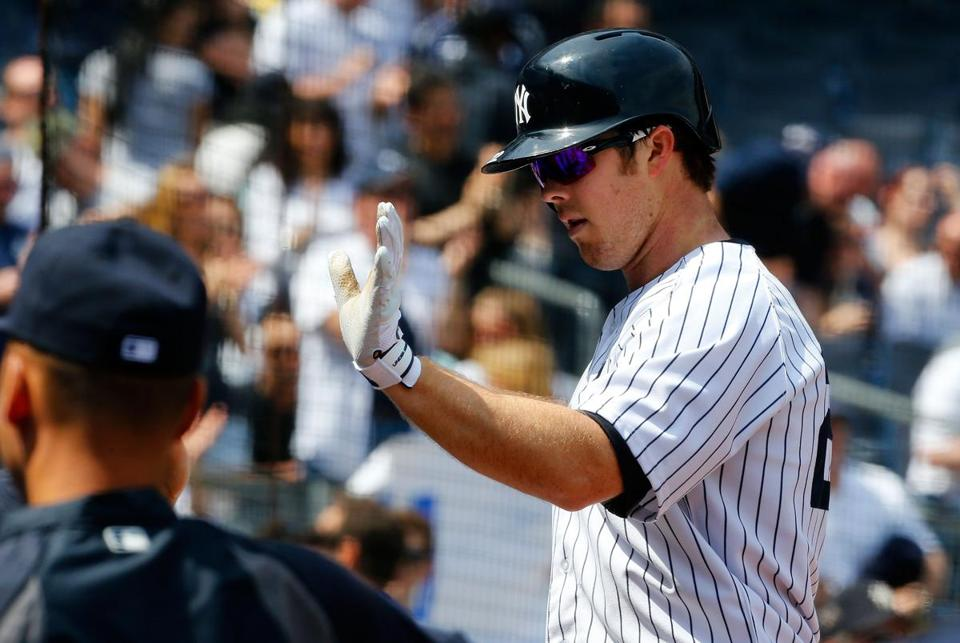 Brennan Boesch's home run got the Yankees on the board during their come-from-behind win over Toronto.