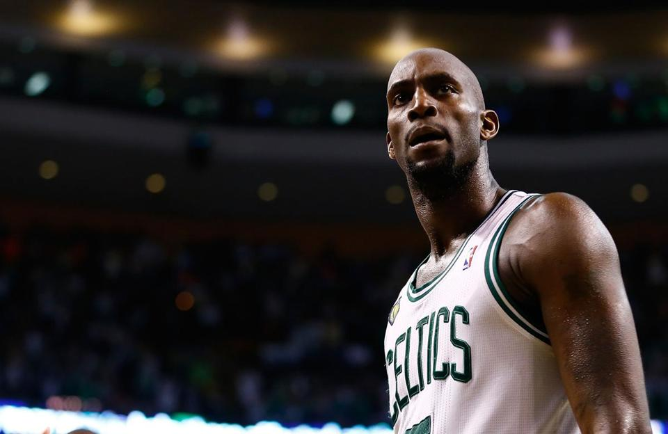 Kevin Garnett and the Celtics head to New York down 3-1 in the series.