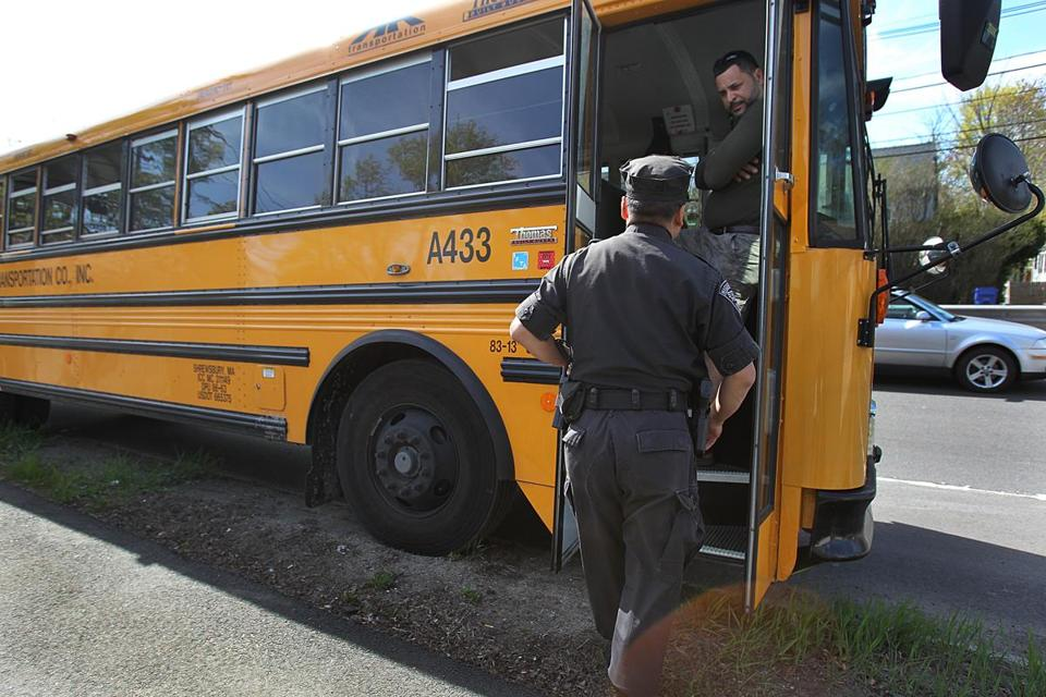 A bus accident on Route 9 in Newton sent dozens of children to the hospital.