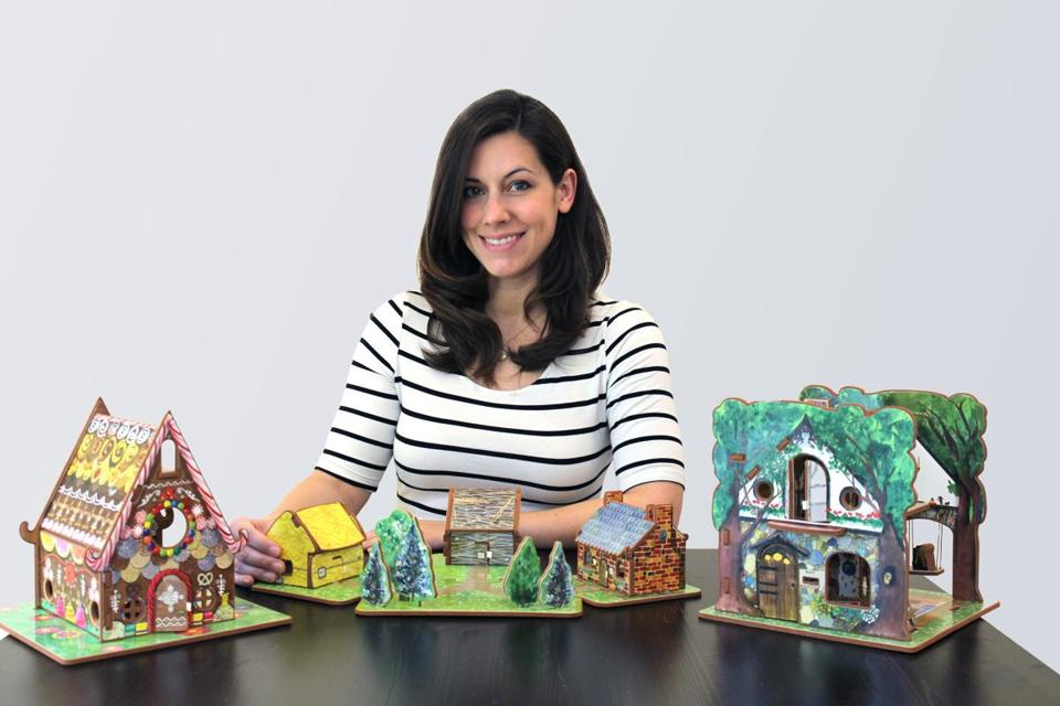 Kara Dyer of Concord is aiming to raise $45,000 on Kickstarter.com for her Storytime Toys Fairytale House Collection based on the fairy tales.