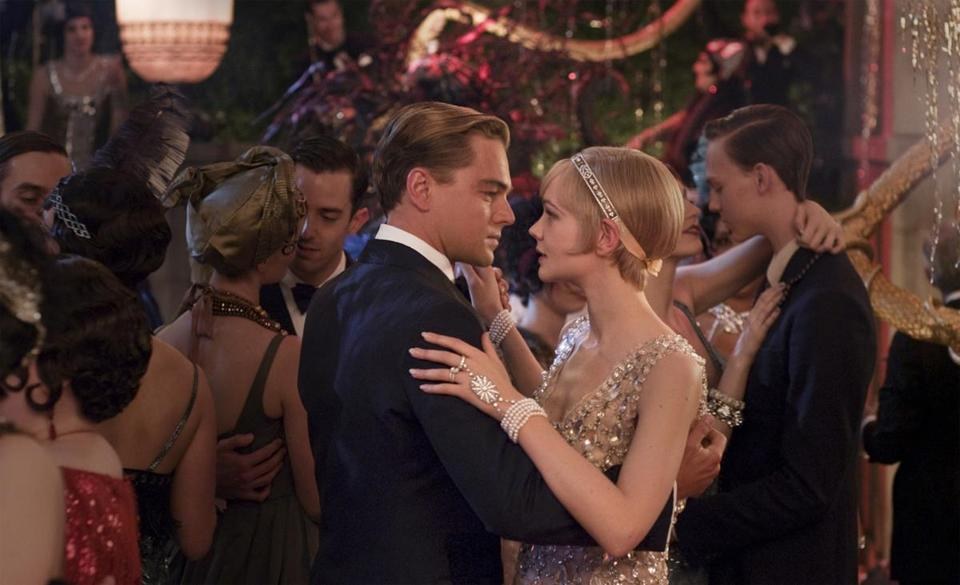 "In Baz Luhrmann's ""The Great Gatsby,"" opening Friday, Leonardo DiCaprio and Carey Mulligan star as Jay Gatsby and Daisy Buchanan."