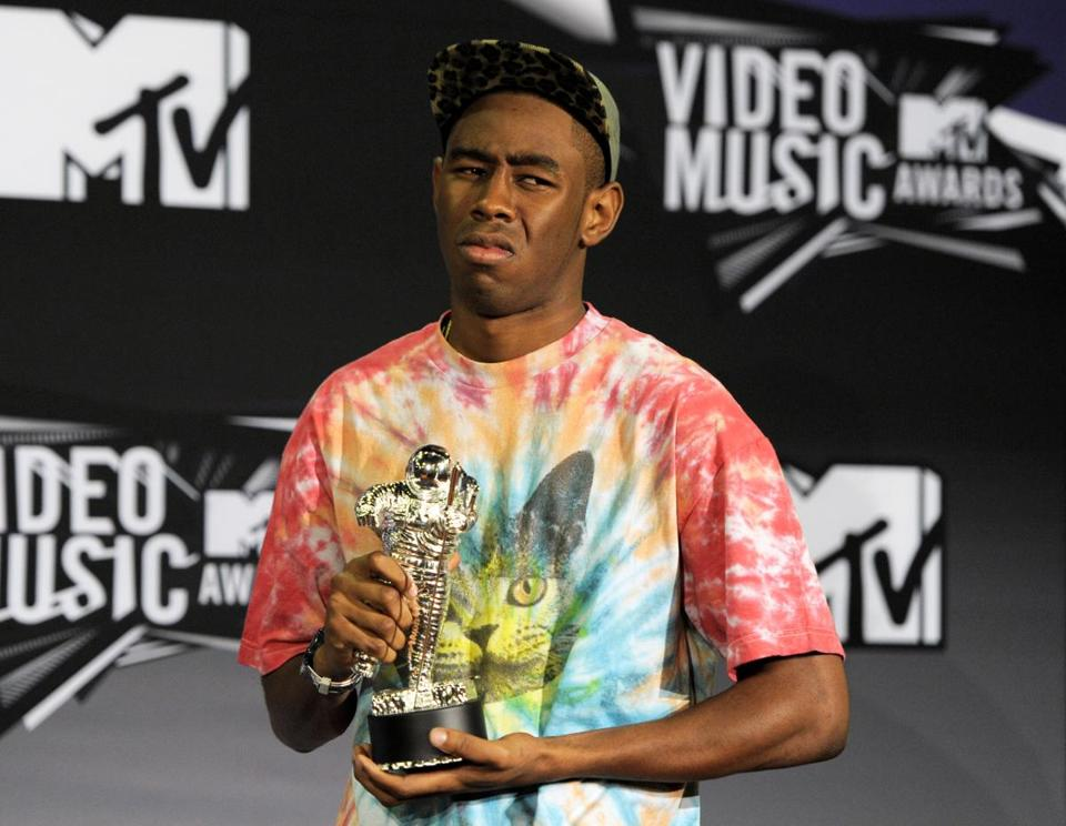 Lyrics from Tyler the Creator have been criticized for being misogynistic and homophobic at times.
