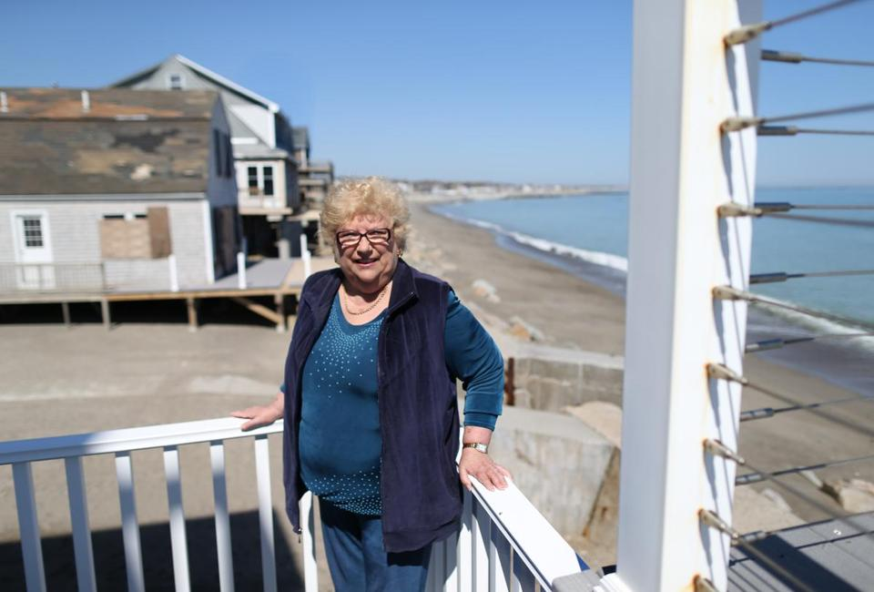 Doris Crary, who owns six properties in Scituate and Marshfield with her husband, says flood insurance is becoming unaffordable.