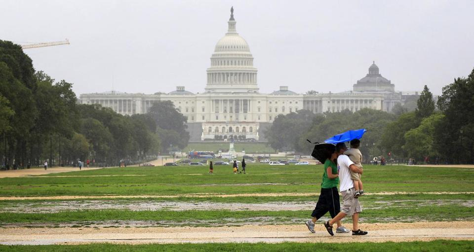Visitors to the 1,000-acre National Mall often come upon cracked sidewalks, dead grass, and smelly pools of water. Volkswagen of America chief executive Jonathan Browning said he was shocked over the area's poor conditons.
