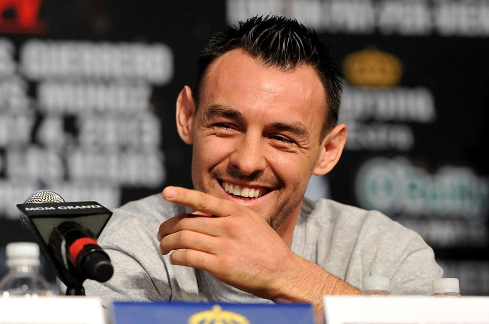 Robert Guerrero, who has a 31-1-1 career mark, wants to hand Floyd Mayweather his first loss.