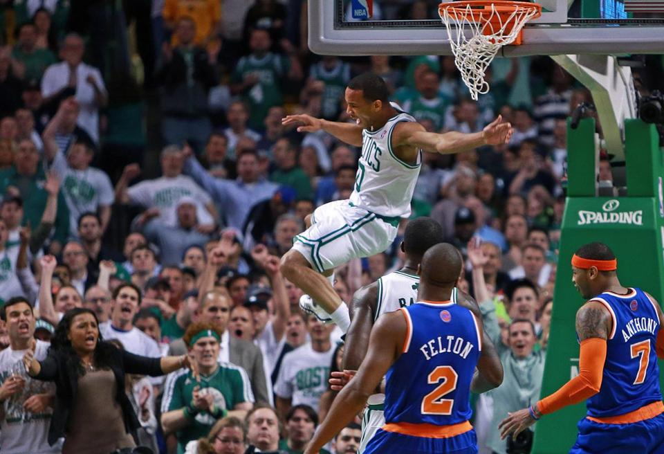 Avery Bradley took charge of an almost improbable comeback at the end of Game 6.
