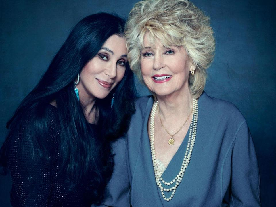 "Cher and Georgia Holt in ""Dear Mom, Love Cher."""